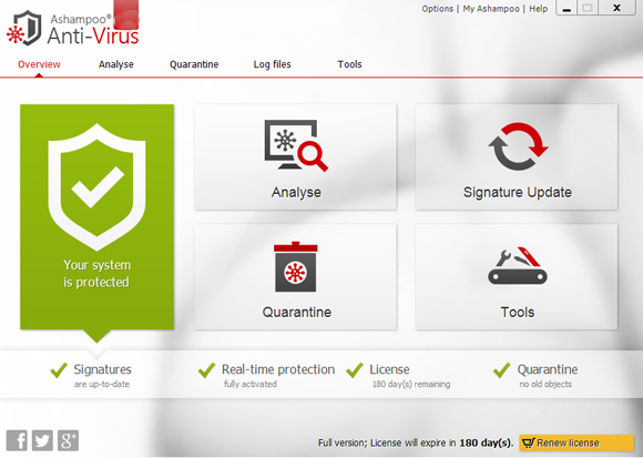 Ashampoo Antivirus License Key