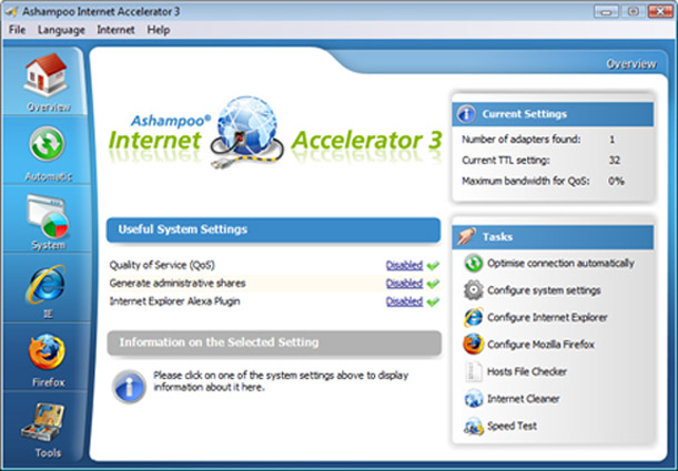 Ashampoo internet accelerator serial key