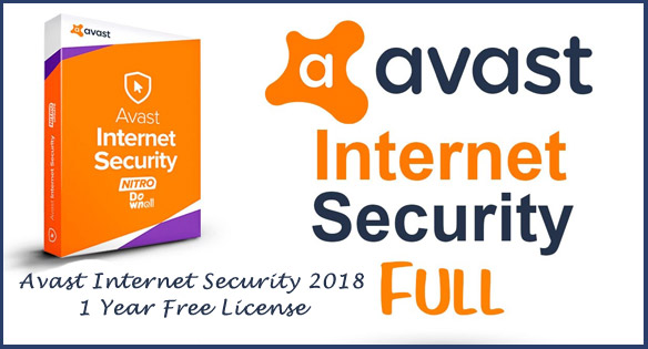 Avast Internet Security 2018 Activation Code 100% Free For 1 Year