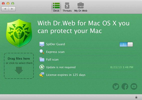 dr web for mac os