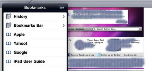How to Remove Bookmark Bar on iPad in Safari