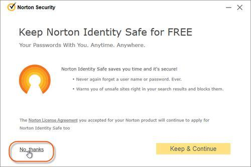 secure your PC with Norton PC Security