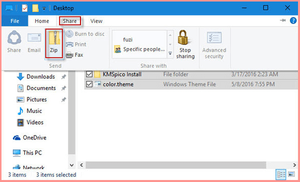 How to ZIP A PDF File on Windows 10