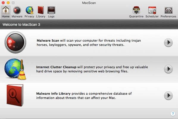 how to remove adware and malware mac with macscan for mac