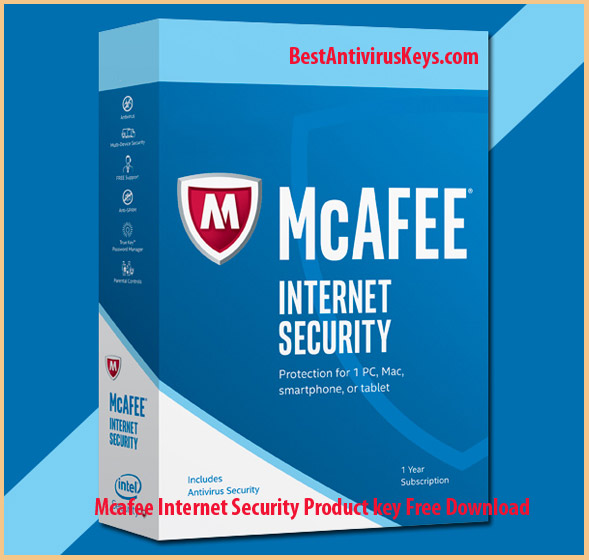 Mcafee Internet Security Product key free