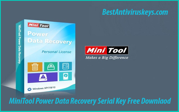 minitool power data recovery 8.1 serial key download