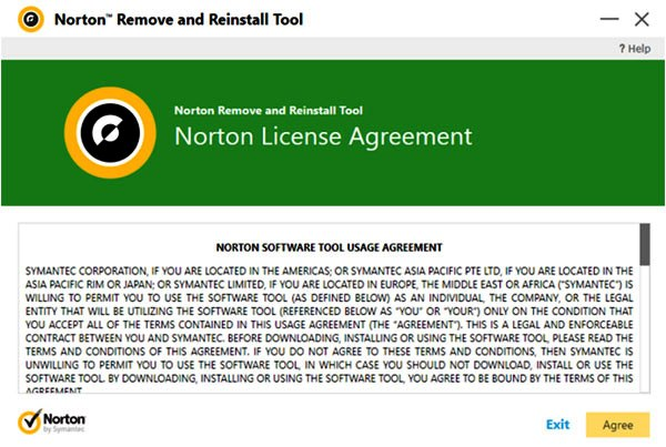 Norton Remove and Reinstall Tool