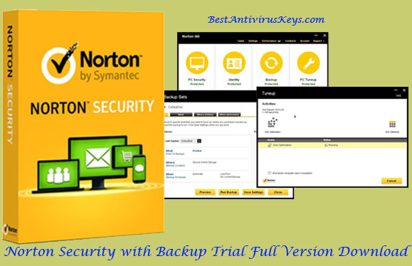 Norton Security with Backup Product Key