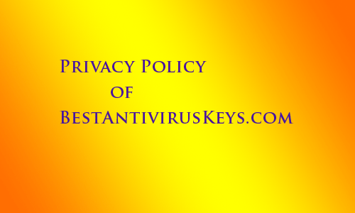 privacy policy for bestantiviruskeys