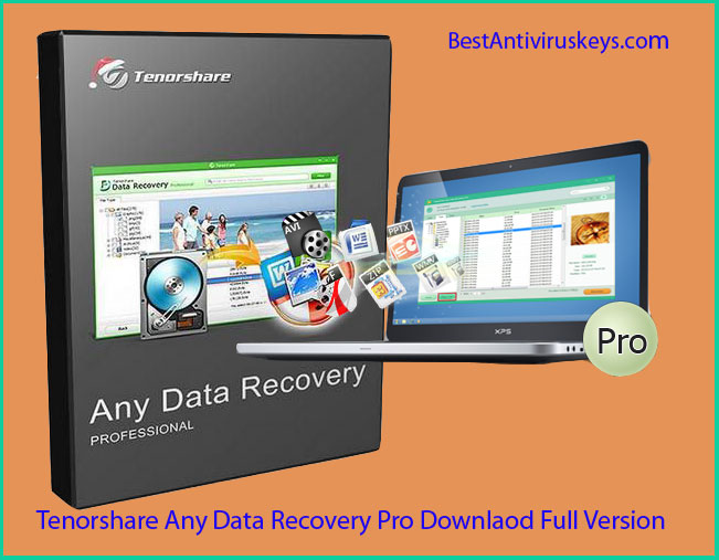 Tenorshare Any Data Recovery Pro Serial Key