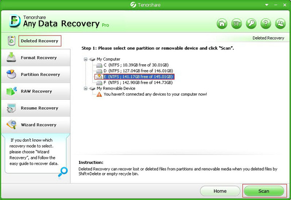 Tenorshare Any Data Recovery Pro Regristration Code