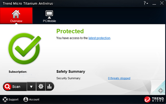 Trend Micro Titanium AntiVirus Serial Key full version