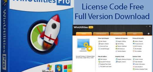 WinUtilities Pro License Code Free Full Version Download