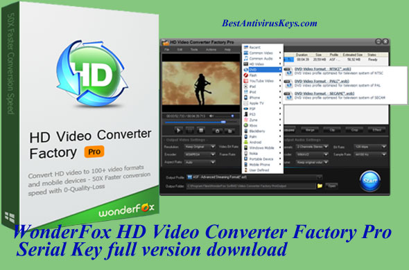 WonderFox HD Video Converter Factory Pro Serial Key Free