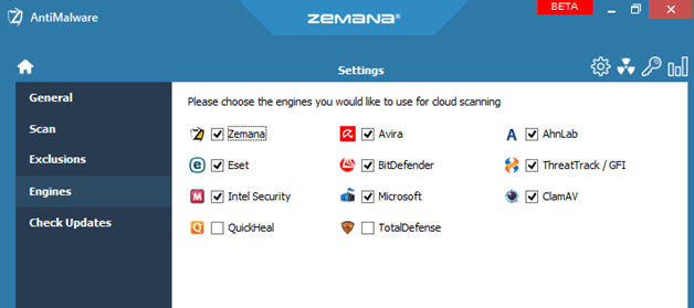 Zemana Anti Malware: free ransomware protection