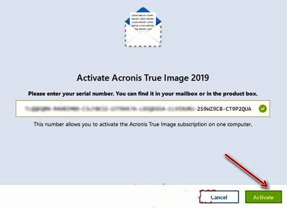 acronis true image 2019 free activation key
