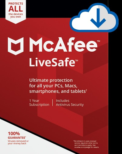 McAfee LiveSafe License Key Free