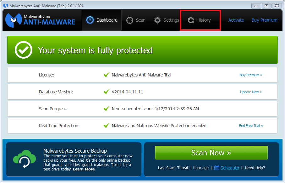 How to Retrieve MalwareBytes Anti-Malware Log Files